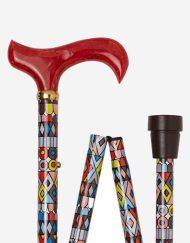 Cobra Art wandelstok Lichtgewicht-Opvouwbare-Verstelbare-Aluminium-modern-design-detail